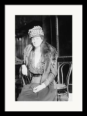 Mrs. Juliette Low Framed Prints