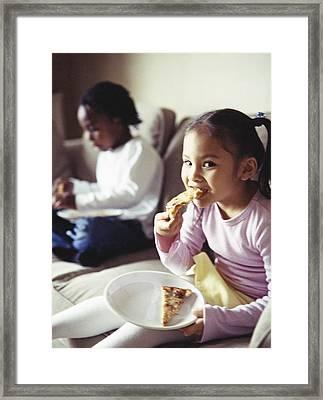 Junk Food Framed Print by Ian Boddy