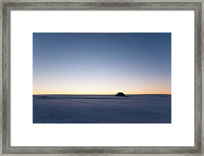 Framed Print featuring the photograph Just Before Sunrise by Monte Stevens