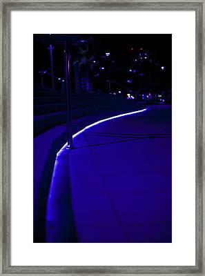 Just Blue Framed Print by Tal Richter