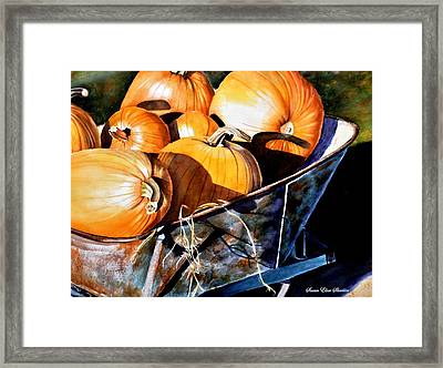 Just Picked Framed Print