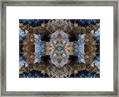 Kaleidoscope Framed Print by Christopher Gaston