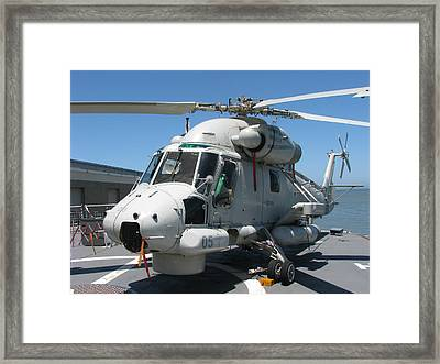 Kaman Sh-2g Sea Sprite Framed Print by Samuel Sheats