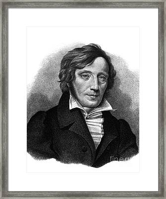 Karl Ernst Von Baer, Estonian Polymath Framed Print by Science Source