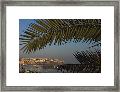 Kasbah Des Oudaias, Rabat Framed Print