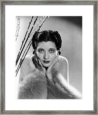 Kay Francis, Ca. Mid-1930s Framed Print