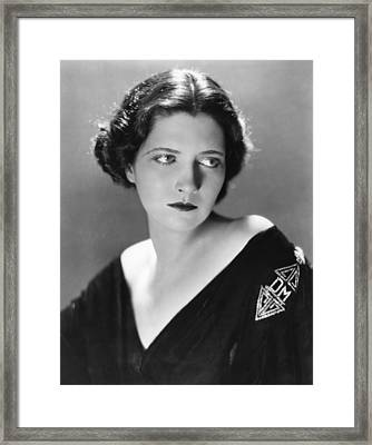 Kay Francis, Circa 1930s Framed Print by Everett
