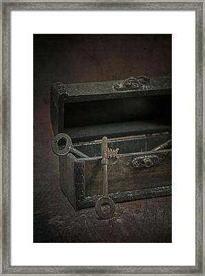 Keys Framed Print by Joana Kruse