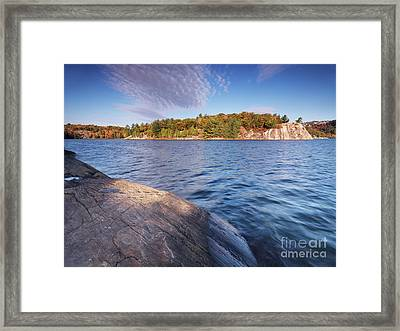 Killarney Provincial Park In Fall Framed Print by Oleksiy Maksymenko
