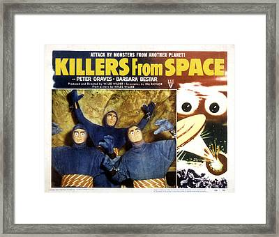 Killers From Space, 1954 Framed Print by Everett