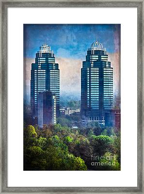King And Queen Buildings Framed Print by Doug Sturgess