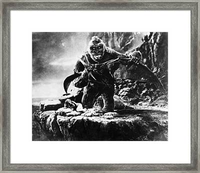 King Kong, 1933 Framed Print by Granger