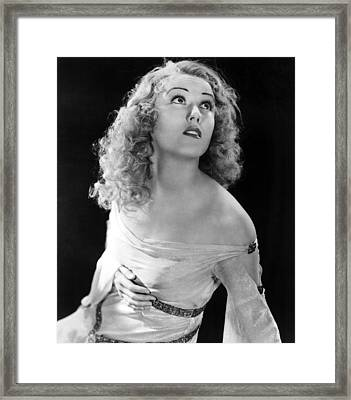 King Kong, Fay Wray, 1933 Framed Print by Everett