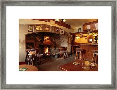 Kings Head Pub Kettlewell Framed Print by Louise Heusinkveld