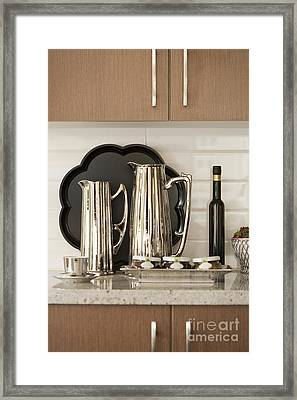 Kitchen Counter Framed Print by Shannon Fagan
