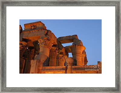 Kom Ombu Temple Egypt Framed Print