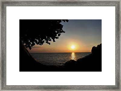 Kona Sunset II Framed Print by Danielle Del Prado
