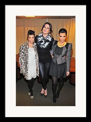 Kourtney Kardashian Framed Prints