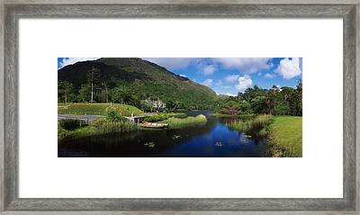 Kylemore Abbey, Co Galway, Ireland Framed Print