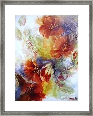 La Bignonia Rossa Framed Print