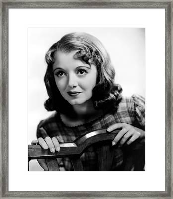 Ladies In Love, Janet Gaynor, 1936 Framed Print by Everett