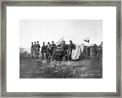 Lafayette Curry Baker Framed Print by Granger