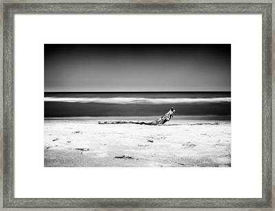 Lake Huron Framed Print by Tanya Harrison