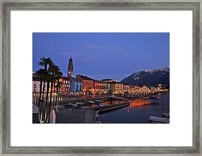 Lake Maggiore - Ascona Framed Print