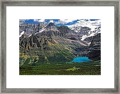 Lake O'hara Framed Print by Steve Harrington