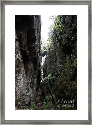 Lake Superior At Lake Superior Framed Print by Ted Kinsman