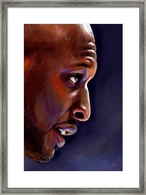 Lamar Framed Print by Jack Perkins