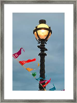 Lamp Light Framed Print by Shirley Mitchell