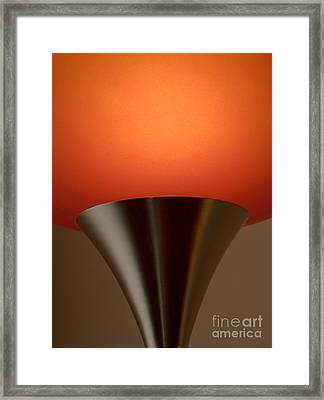 Lamp Framed Print by Odon Czintos