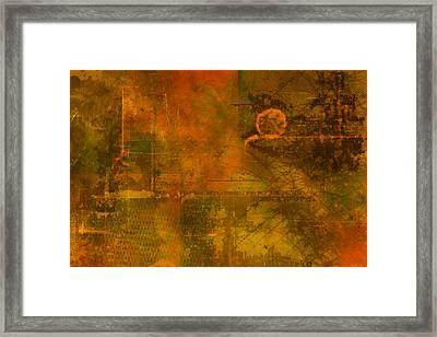 Landscape Of Mars Framed Print by Christopher Gaston