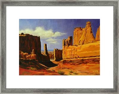 Lane Park  Utah Framed Print