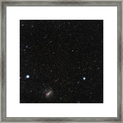 Large Magellanic Cloud Framed Print by Eckhard Slawik