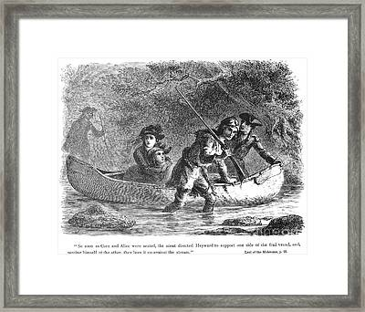Last Of The Mohicans, 1872 Framed Print by Granger