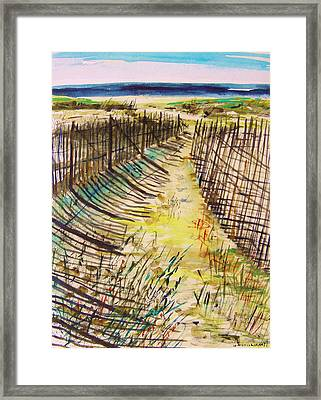 Late In The Day Framed Print by John Williams