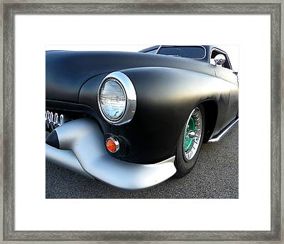 Lean Mean Racing Machine Framed Print