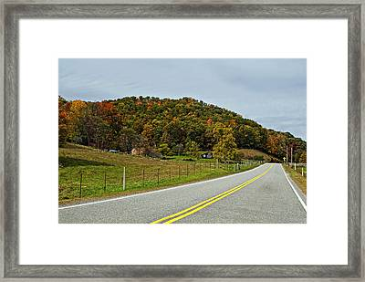 Let It Roll Framed Print by Steve Harrington