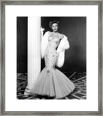 Lets Be Happy, Vera-ellen, 1957 Framed Print