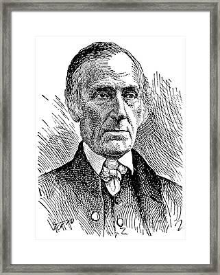 Levi Coffin (1798-1877) Framed Print