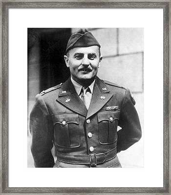 Lieutenant Colonel Darryl F. Zanuck Framed Print by Everett