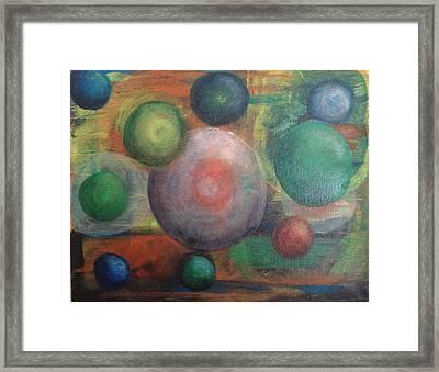 Life In Stillness Framed Print