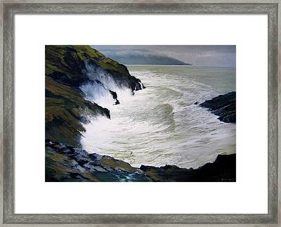 Life Storm Framed Print by Robert Duvall