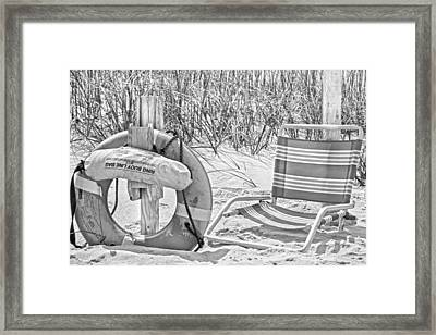 Lifeguard Framed Print by Betsy Knapp