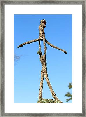 Lift Photographed Outside Framed Print by Adam Long