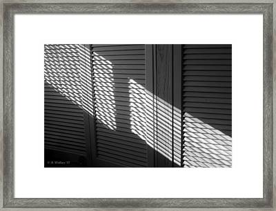 Light And Shadow Framed Print
