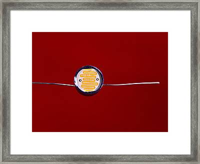 Light-dependent Resistor Framed Print by Andrew Lambert Photography