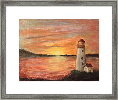 Light House Framed Print